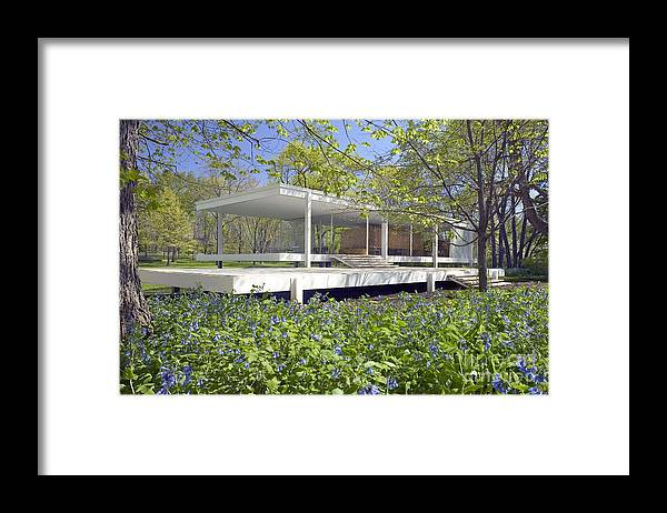 Farnsworth House Illinois by Martin Konopacki