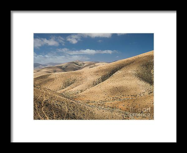 Betancuria Framed Print featuring the photograph Fayagua 1 by Michael David Murphy