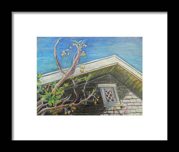 Framed Print featuring the painting February Foliage II by Aleksandra Buha