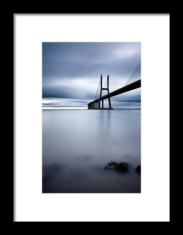 Lisbon Framed Print featuring the photograph Feeling Blue by Jorge Maia