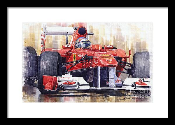 Fernando Alonso Framed Art Prints Fine Art America