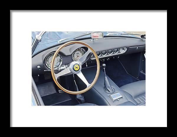 Ferrari Framed Print featuring the photograph Ferrari 250 Gt Scaglietti Swb California Spyder 1961 by Maj Seda