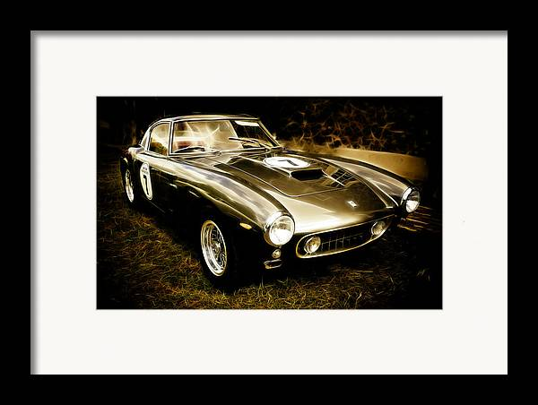 Classic Ferrari Framed Print featuring the photograph Ferrari 250 Gt Swb by Phil 'motography' Clark