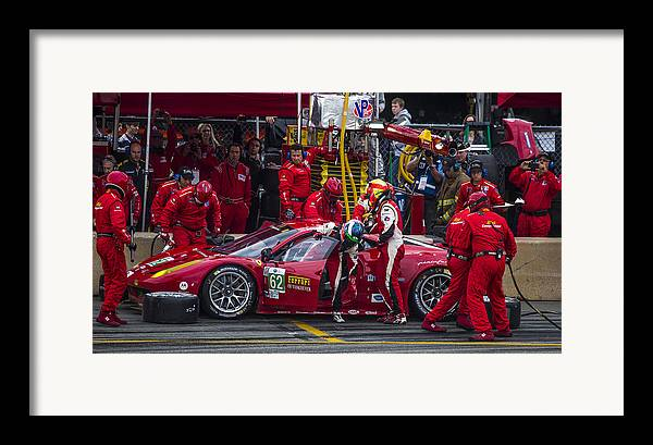 Ferrari Framed Print featuring the photograph Ferrari Of Vancouver by Bill Linhares