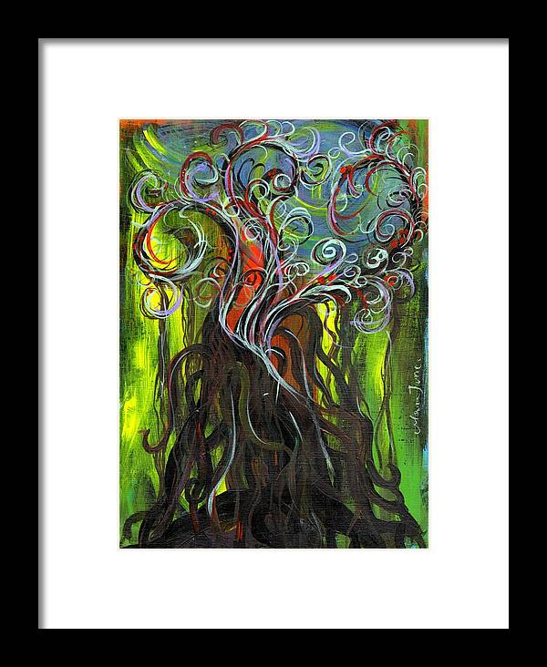 Ficus Framed Print featuring the painting Ficus by Mrs Wilkes Art