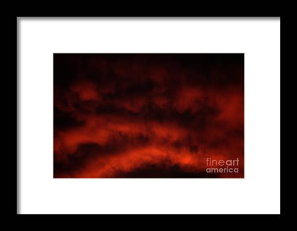 Fiery Framed Print featuring the photograph Fiery by Gary Richards