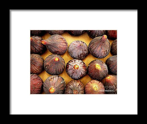 Figs Framed Print featuring the photograph Figs by Lainie Wrightson