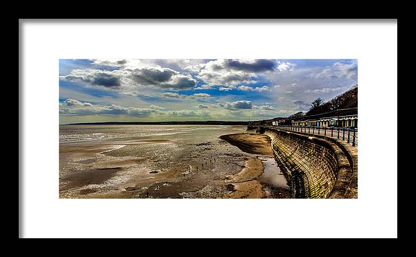 Filey Framed Print featuring the photograph Filey Beach by Trevor Kersley
