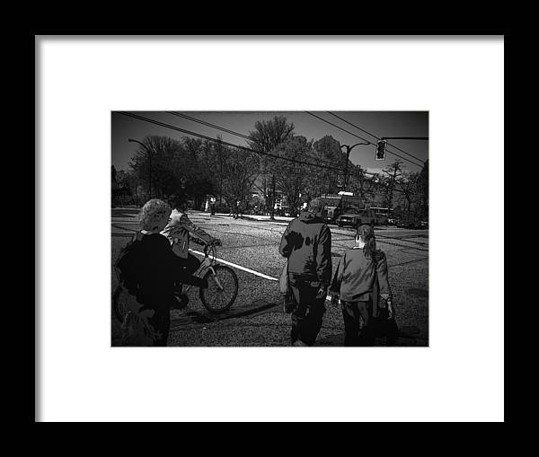 Filtered Framed Print featuring the digital art Filtered Candids by Josie Boyce