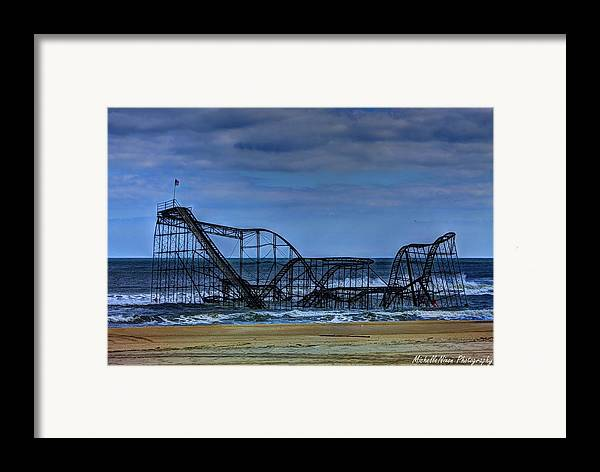 Nj Framed Print featuring the photograph Final Farewell by Michelle Nixon
