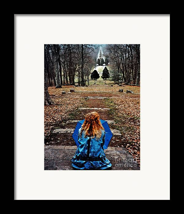 Park Framed Print featuring the photograph Find Me by Lydia Holly