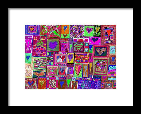 Find U'r Love Found Framed Print featuring the photograph find U'r love found v5 by Kenneth James