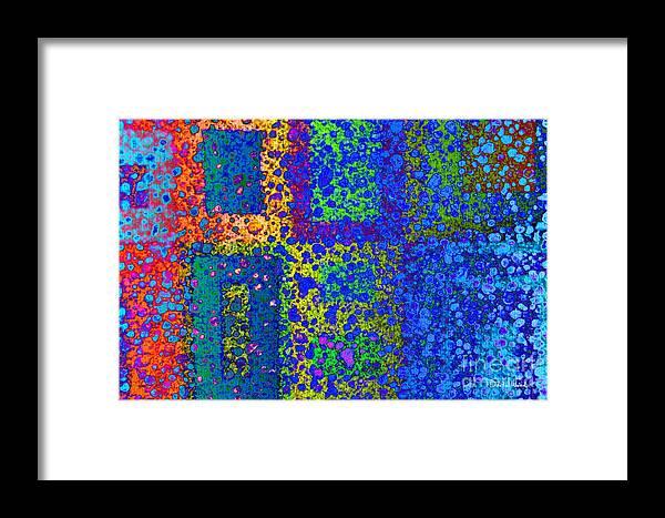 Finding The Door Framed Print featuring the digital art Finding The Door by Darla Wood