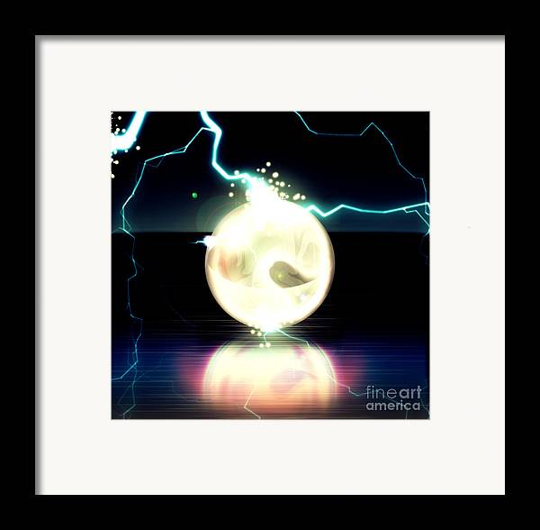 Artwork Framed Print featuring the digital art Fine Art Untitled No.24 by Caio Caldas