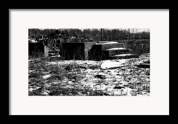 Rural America Framed Print featuring the photograph Fire by Charlie Spear