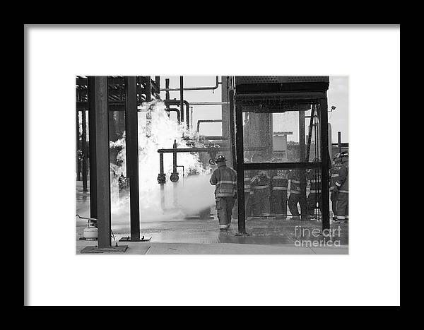 Firefighter Framed Print featuring the photograph Fire Field 1 by William Pittman