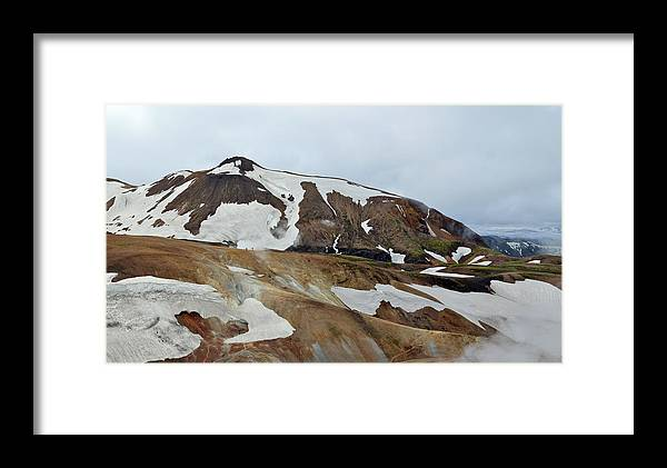 Framed Print featuring the photograph Fire Water And Ice by John Marshall