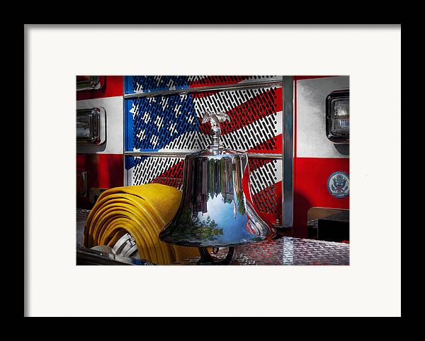 Fire Framed Print featuring the photograph Fireman - Red Hot by Mike Savad