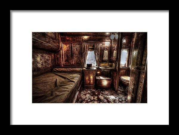 Sleeper Framed Print featuring the photograph First Class Sleeper by David Morefield