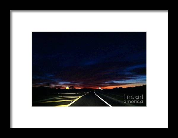 Paradise Framed Print featuring the photograph First Light by Melissa Darnell Glowacki