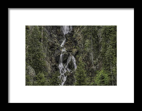 Waterfalls Framed Print featuring the photograph Fish Creek Falls by Bill Sherrell