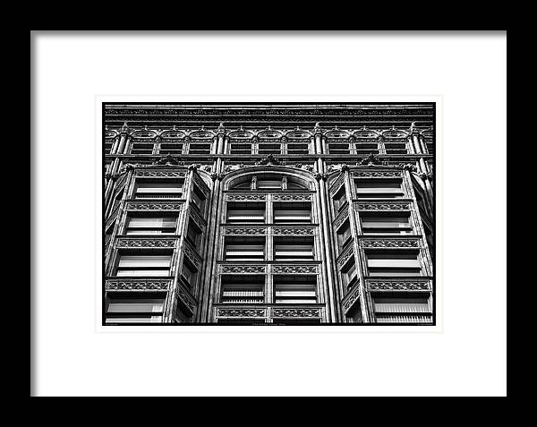 1896 Framed Print featuring the photograph Fisher Building - 10.11.09_028 by Paul Hasara