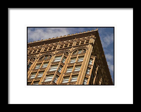 1896 Framed Print featuring the photograph Fisher Building - 10.11.09_092 by Paul Hasara