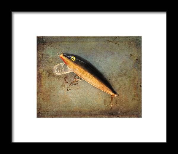 Close Up Framed Print featuring the photograph Fishing Lure II by David and Carol Kelly