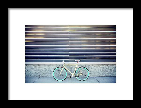 Tranquility Framed Print featuring the photograph Fixie by I Love Taking Photo