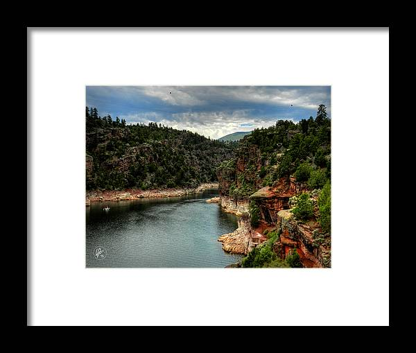 Utah Framed Print featuring the photograph Flaming Gorge - Cart Creek 002 by Lance Vaughn