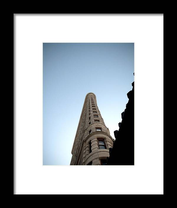 Manhattan Framed Print featuring the photograph Flatiron Building by Newyorkcitypics Bring your memories home