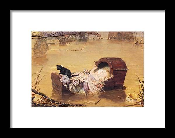 John Everett Mailas Framed Print featuring the digital art Flood by John Everett Mailas