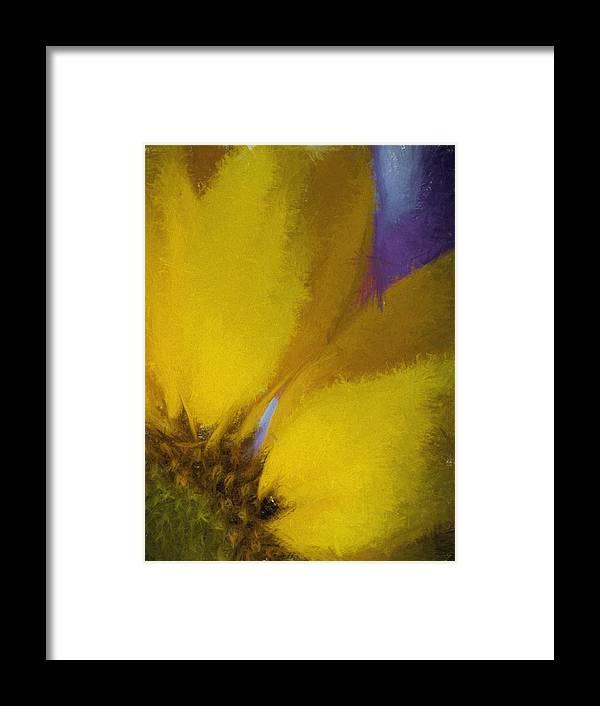 Flowers Framed Print featuring the digital art Floral Art Xxxii by Tina Baxter