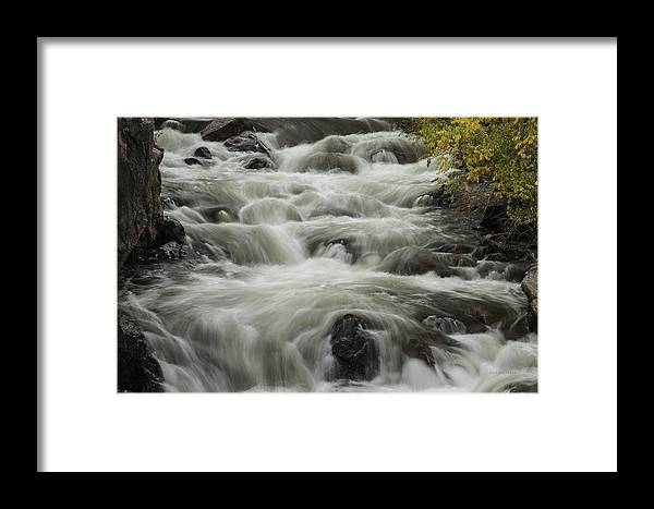 Waterfalls Framed Print featuring the photograph Waterflow by Bill Sherrell
