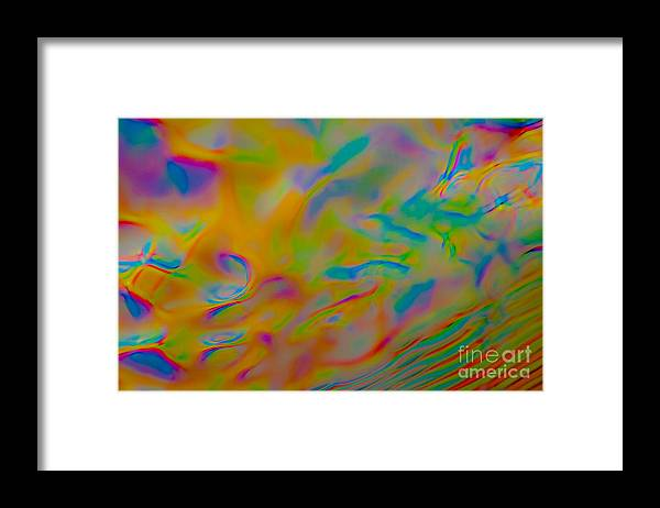 Abstract Framed Print featuring the photograph Fluff by Anthony Sacco