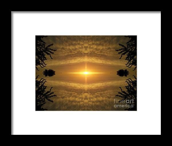 Sun Framed Print featuring the photograph Focus On His Light by Jon Glynn