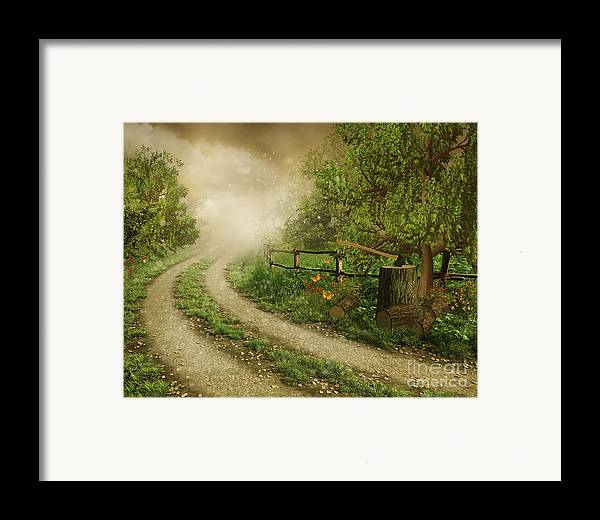 Foggy Road Framed Print featuring the photograph Foggy Road by Boon Mee