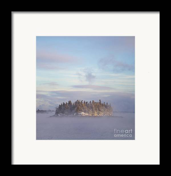 Fog Framed Print featuring the photograph Fogscape by Evelina Kremsdorf