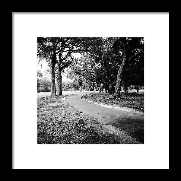 Golf Framed Print featuring the photograph Follow by Scott Pellegrin