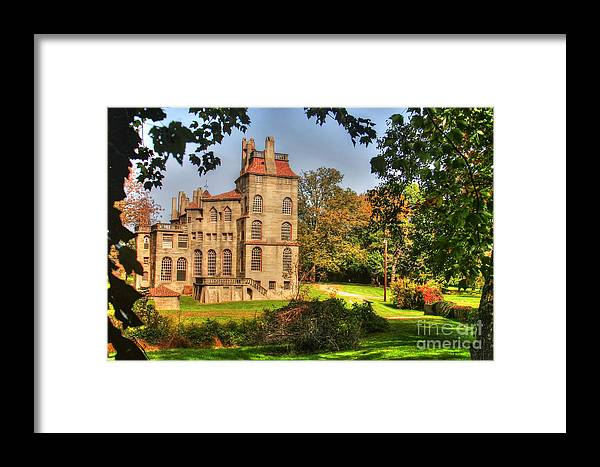 Fonthill Framed Print featuring the photograph Fonthill Castle by Traci Law