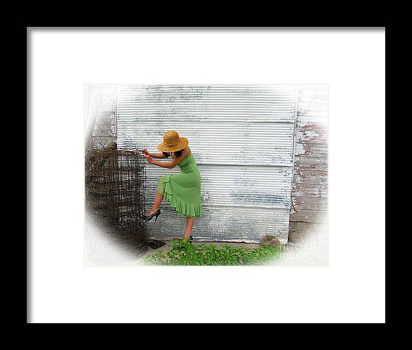 Multiple Sclerosis Framed Print featuring the photograph For Support by Tina M Wenger