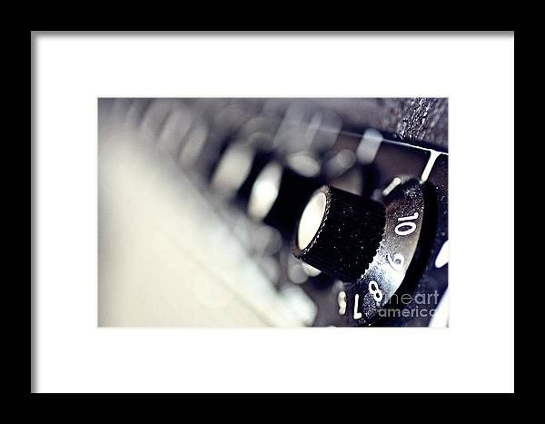 Amplifier Framed Print featuring the photograph For Those About To Rock by Patrick Rodio