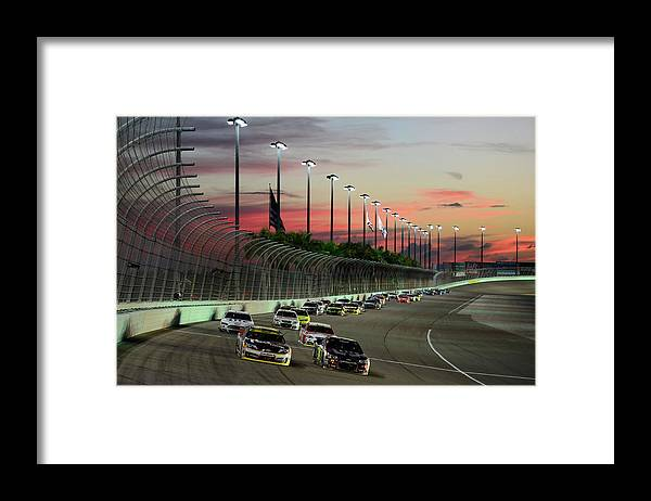 Sport Framed Print featuring the photograph Ford Ecoboost 400 by Robert Laberge