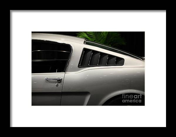 Transportation Framed Print featuring the photograph Ford Mustang Fastback 5d26841 by Wingsdomain Art and Photography
