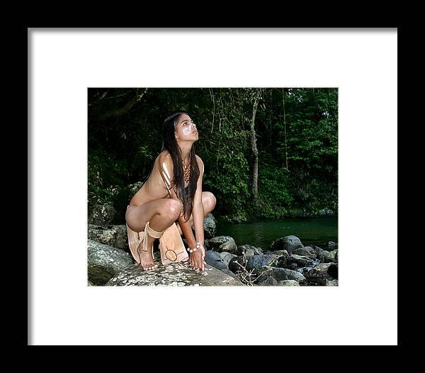 Koa Feliciano Framed Print featuring the photograph Forest Nymph by Koa Feliciano