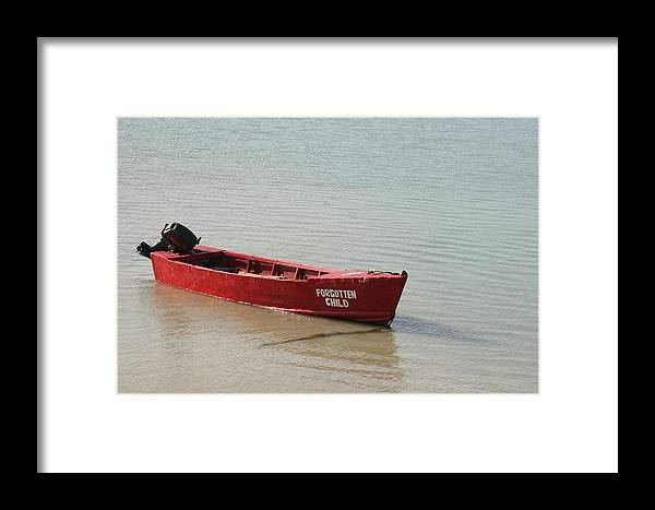 Boat Framed Print featuring the photograph Forgotten by Dervent Wiltshire