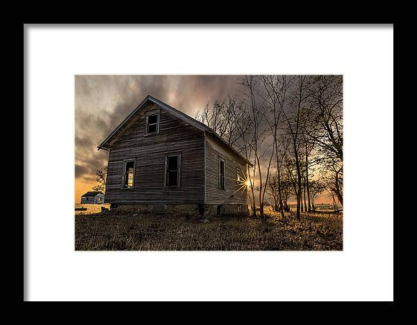Forgotten Framed Print featuring the photograph Forgotten V by Aaron J Groen