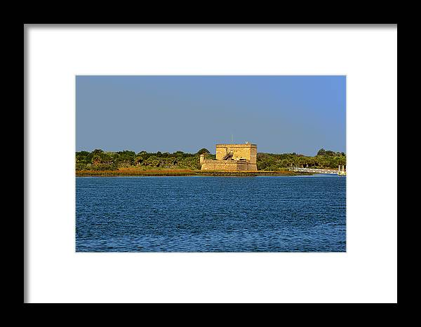 Fort Framed Print featuring the photograph Fort Matanzas - Saint Augustine Florida by Christine Till