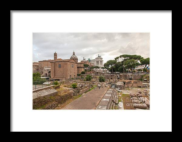Ancient Framed Print featuring the photograph Forum Of Nerva by Mariusz Jurgielewicz
