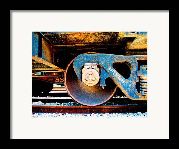 Art166 Framed Print featuring the photograph Foundation 2 by Wendy J St Christopher